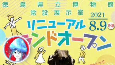 【新常設展】文化の森、徳島県立博物館を徹底解説!体験&感想も!