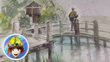 眉山公園、江川鴨島公園、地蔵院!トリプルスケッチ武者修行に行ってきましたの!