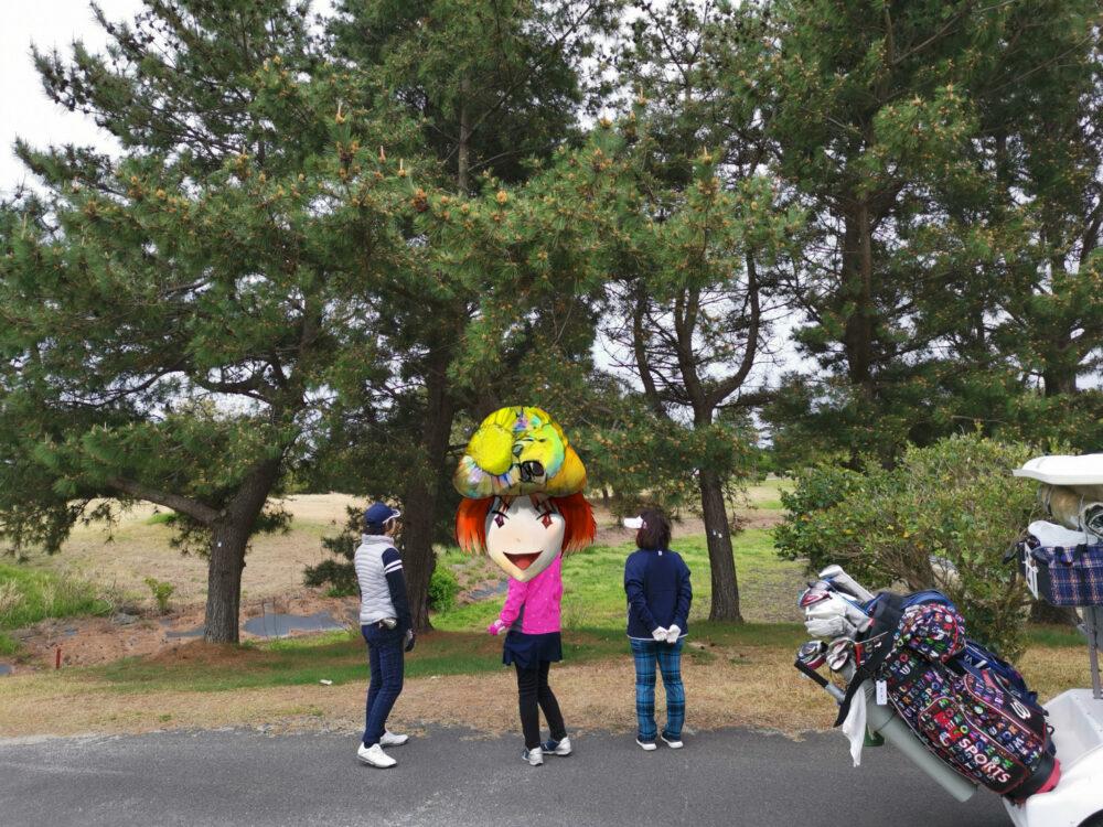コート・ベール徳島。ゴルフ。