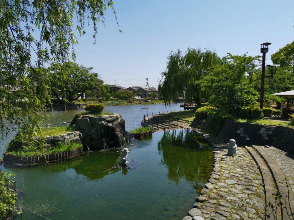 江川・鴨島公園の絶景