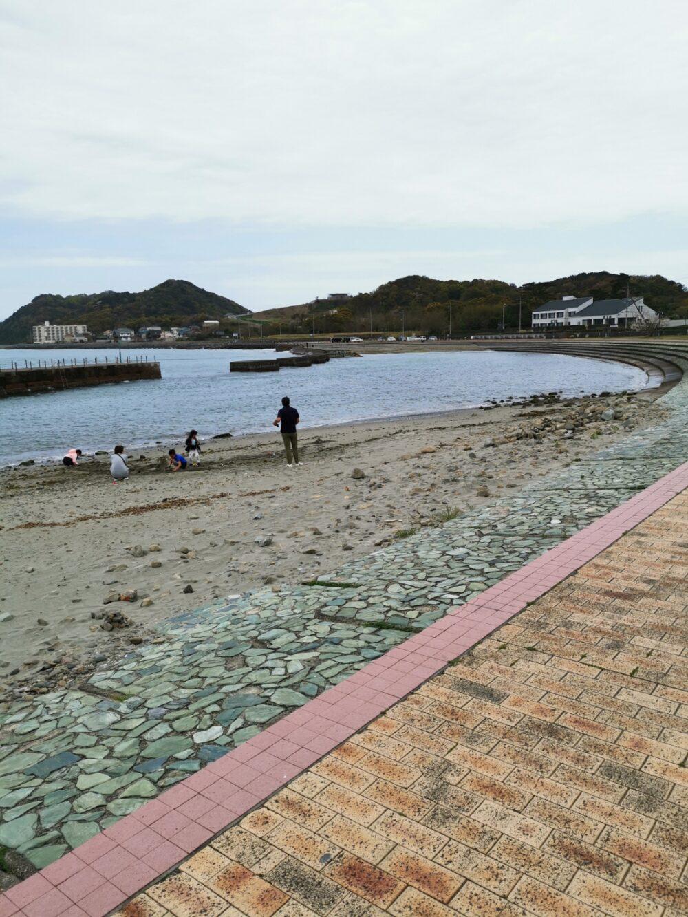 岡崎海岸。徳島県。