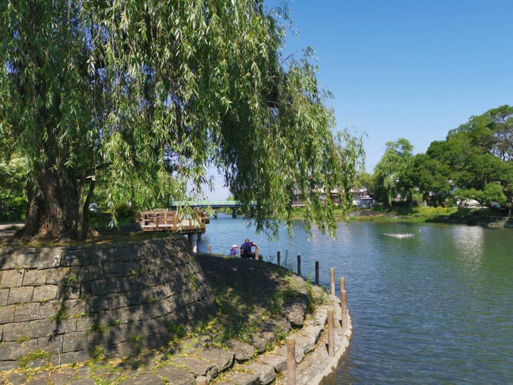 江川・鴨島公園。撮影ハハクラゲ。
