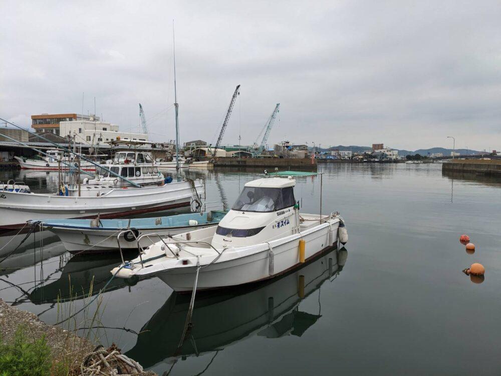 徳島県小松島漁港。撮影ハハクラゲ。