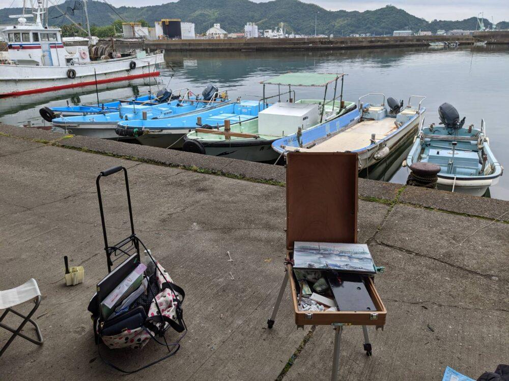 徳島県小松島漁港