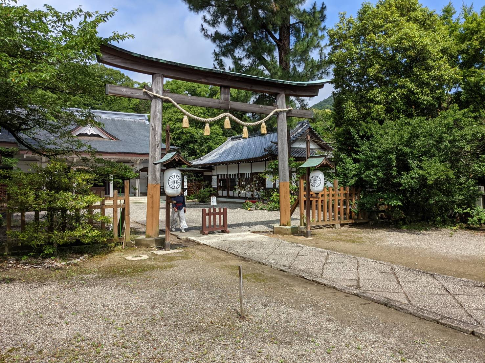 徳島県の忌部神社。鳥居。撮影ハハクラゲ。