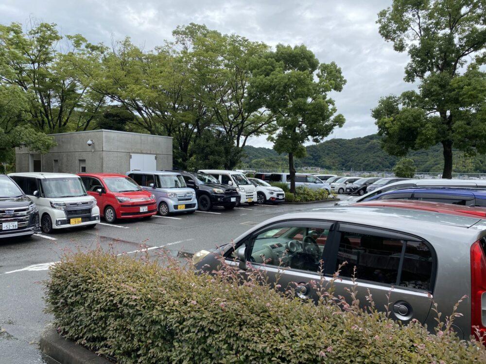 文化の森の無料駐車場